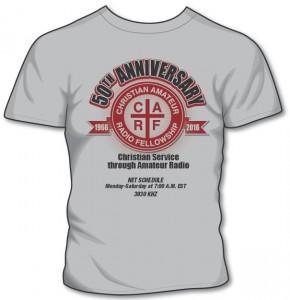 CARF 50th Anniversary Shirt